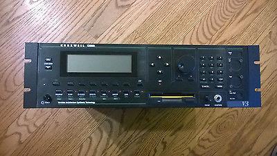 Kurzweil K2000R  V3 Rack mount SYNTHESIZER w/ 500 mb SCSI internal HD