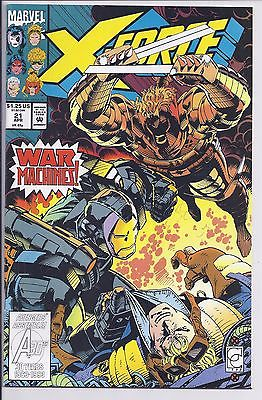 X-Force 21  Very Fine to Near Mint Condition