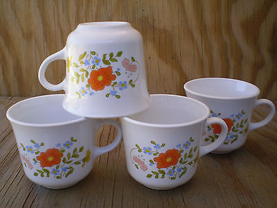 Corelle Dishes Wildflower Cups Set Of 4