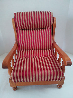 Toy Wood ArmChair Upholstered with cushion 13