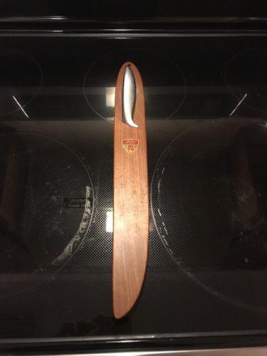 Vintage Gerber Legendary Blades with wooden holder