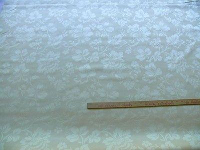 AMAZING! 2 5/8Y KRAVET STUNNING DAMASK JACOBEAN FLORAL PALEST SEASHELL (.116)