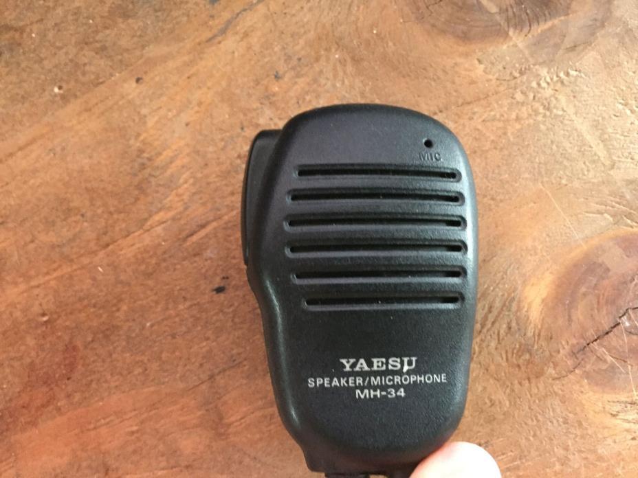 Genuine OEM Yaesu MH-34 Speaker Mic for VX-1R VX-2R VX-5R FT-60R mircophone