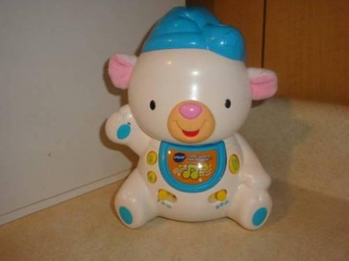 VTech Baby Sleepy Lullabies Bear Projector Crib Toy