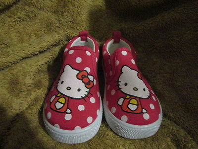 Toddler Girls Kitty Face shoes Size 7.5 brand New