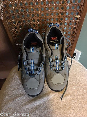 Women WORX by Red Wing STK 5397 Steel Toe Skid Resistant Athletic Work  Shoes  6