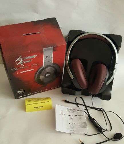 Monster FXM200 Fatal1ty On-Ear Gaming Headset With Mic For PS4 Xbox One Mobile