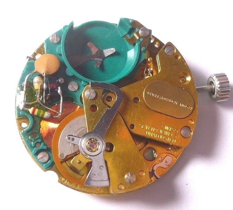 ESA 9158 Electric Watch Movement Runs Great