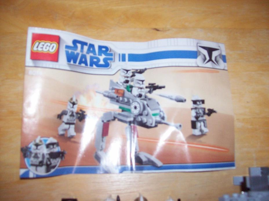 LEGO Star Wars Clone Walker Battle Pack Set #8014 The Clone Wars complete