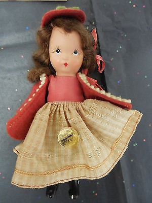 #123 Nancy Ann Storybook Doll - 1940's