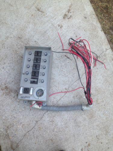 Used  GENTRAN 30310 30-Amp  Transfer Switch