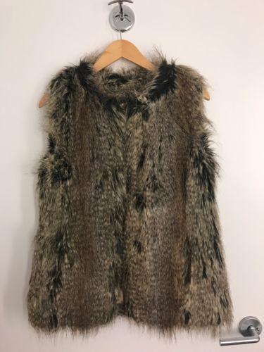 Fur Vest by Trina Turk