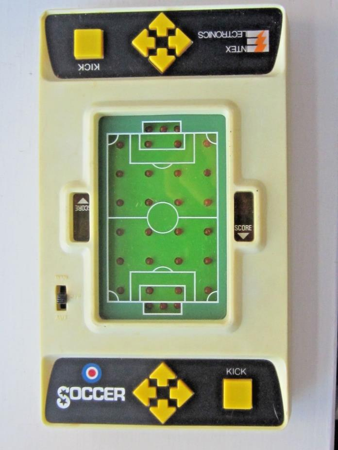 Vintage Entex Electronics Soccer GAME