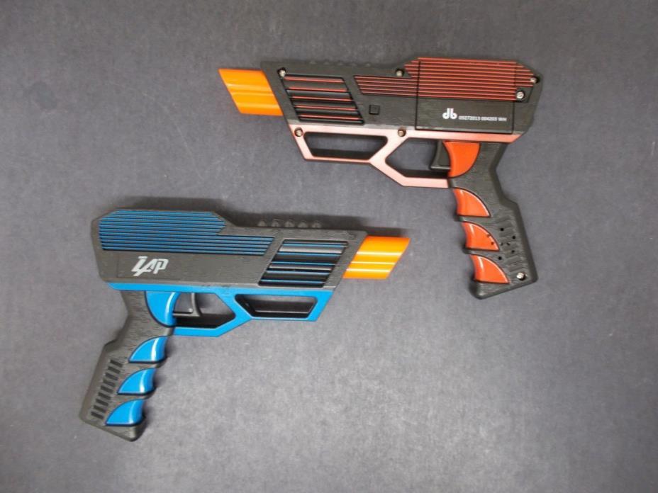 NEW Zap Blaster Lazer Battle Blasters (2 blasters)