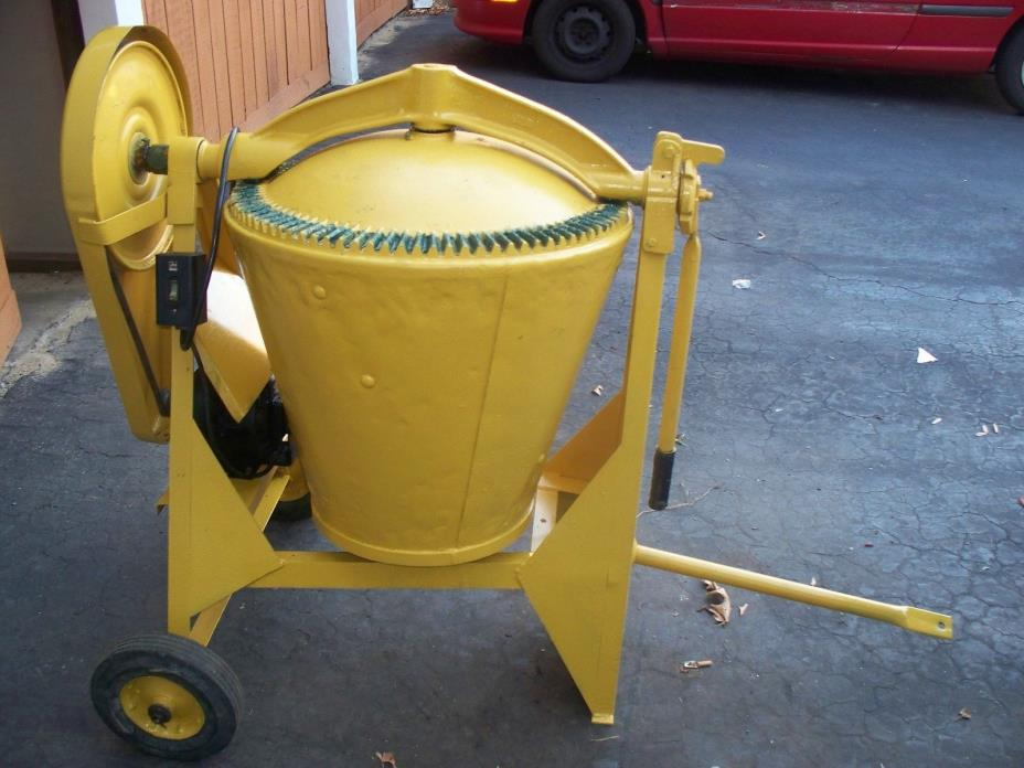 Electric cement mixer for sale classifieds for Cement mixer motor for sale