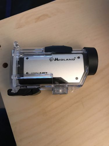 Midland Compact Video Camera (1080P)  W Waterproof Housing, Great Condition