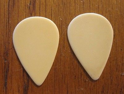 Pair of Vintage Ivory Color Guitar / Mandolin Picks