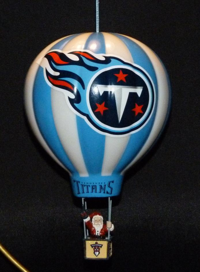 DANBURY MINT ... TENNESSEE TITANS ... 2004 VICTORY BALLOON CHRISTMAS ORNAMENT