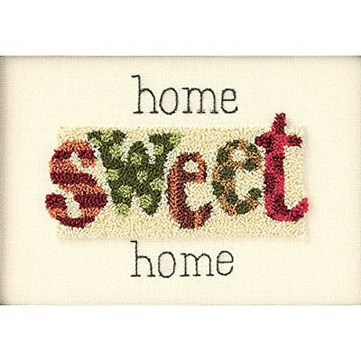 New Dimensions Home Sweet Home Punch Needle Kit