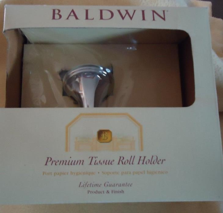 BALDWIN PREMIUM TISSUE ROLL HOLDER, CANAVERAL 3783-260-SP, POLISHED CHROME