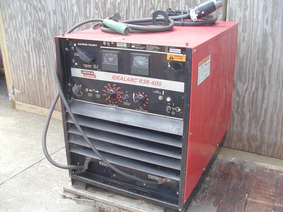 Lincoln Idealarc R3R-400 Stick & TIG Welder Power Supply w/ Polarity control
