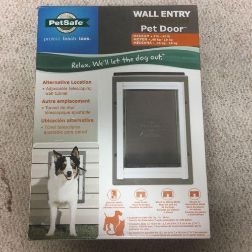 Petsafe dog door - 5 - 40 lb dogs