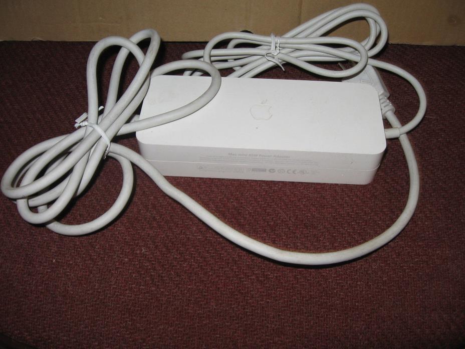 Genuine OEM APPLE Mac Mini 85W 18.5V 4.6A AC Adapter Power Supply A1105