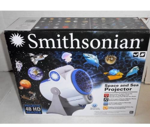 NEW Smithsonian Space and Sea Projector - Projects 48 HD Images