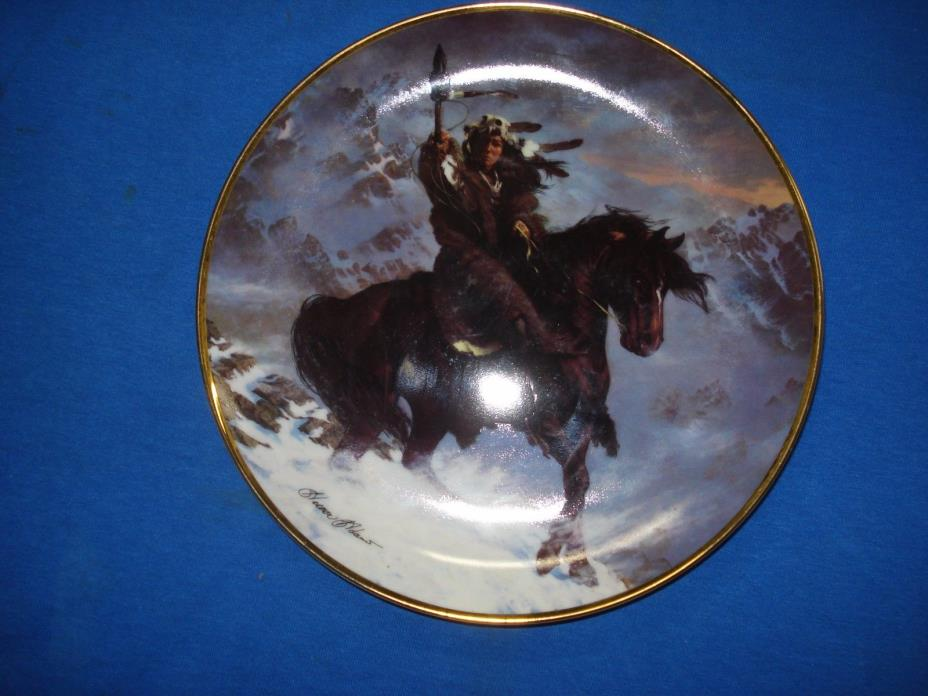 Spirit of the West Wind Collector's Plate