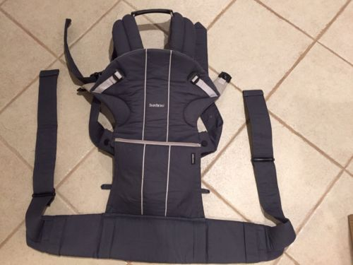 BABYBJORN Comfort Carrier Gray Organic Gently Used