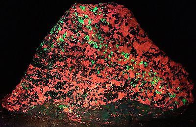 16+Lbs Fluorescent Phosphorescent Willemite Calcite Sterling Hill NJ WC52-58