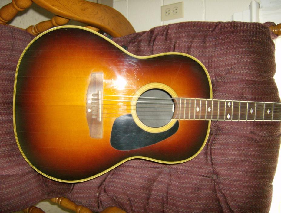 Ovation  Acoustic ELECTRIC Guitar Made in USA ...APPLAUSE PROJECT
