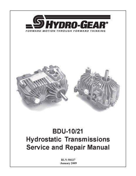 Transmission pump BDU-10L-213/C37764 HYDRO GEAR OEM FOR TRANSAXLE