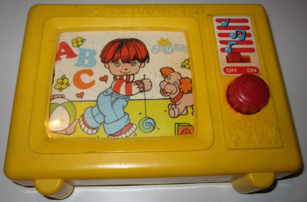 Shelcore Musical TV 1987 Shelyking Childrens Kids Toy