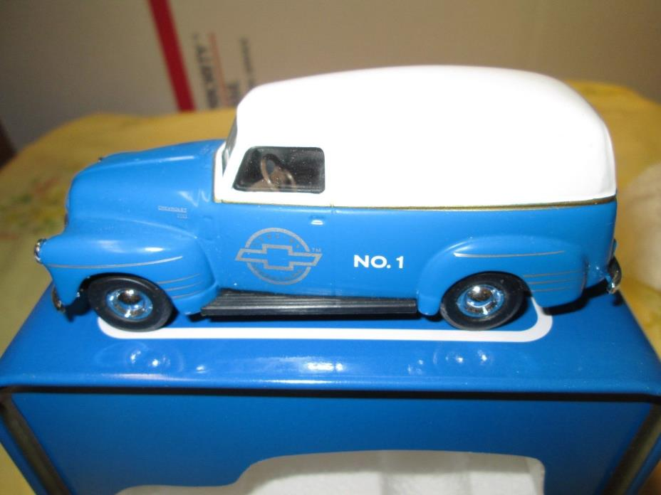 DIE CAST 1950 CHEVY PANEL VAN! LIMITED EDITION, MIB!! COOL