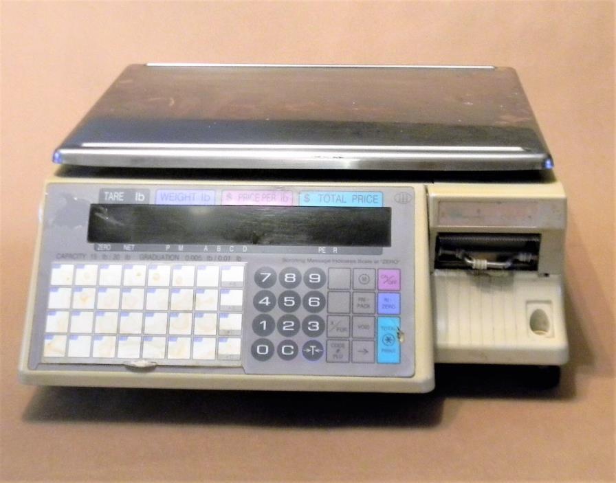 Digi SM-90 30-lb. Digital Deli/Bakery/Meat Scale/Printer For Parts or Repair