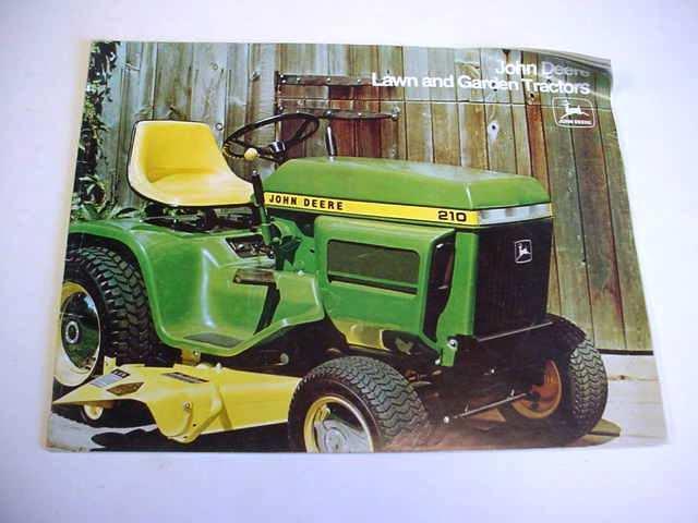 John Deere 100 200 300 400 Garden Tractor & Attach Book