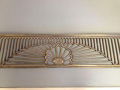 Home Decor Wall Art Brass Vent Antique brass Fireplace Grill