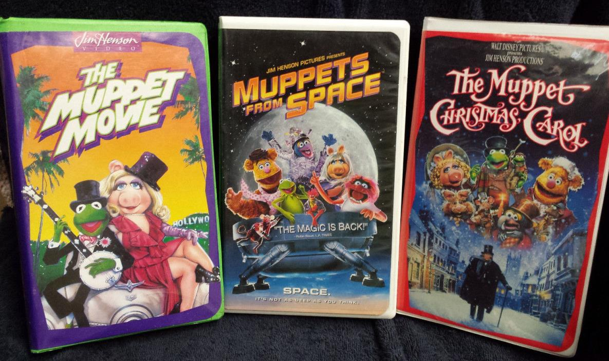 Muppet Christmas Carol Vhs.Muppet Movie Vhs For Sale Classifieds