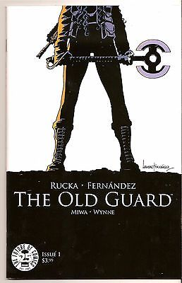 The Old Guard #1 (2017) Cover 1A Image Rucka & Fernandez 1ST PRINT MOVIE NM+