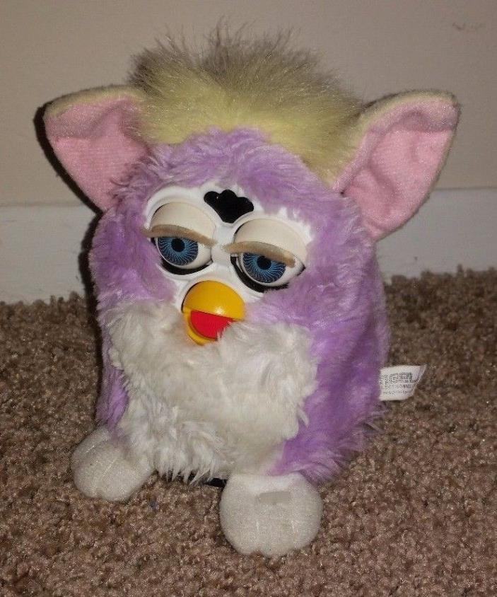 FURBY  Baby Purple  YELLOW TIGER ELECTRONICS 1999  CUTE and WORKING