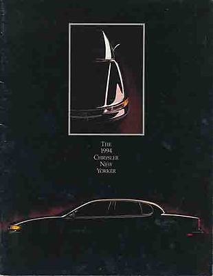 1994 CHRYSLER NEW YORKER 8pp BROCHURE