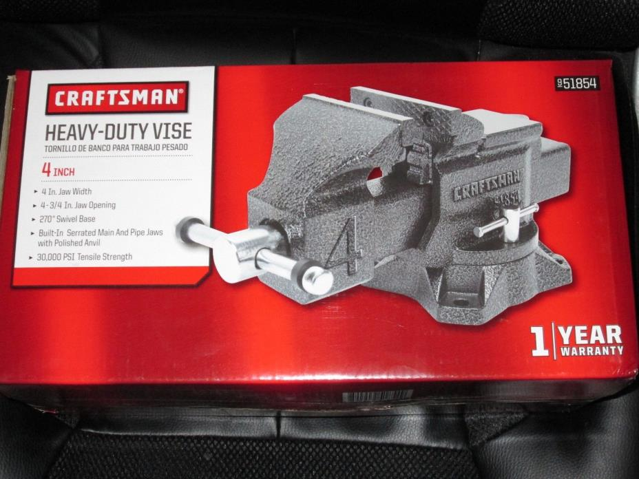 Craftsman 4 inch Bench Vise