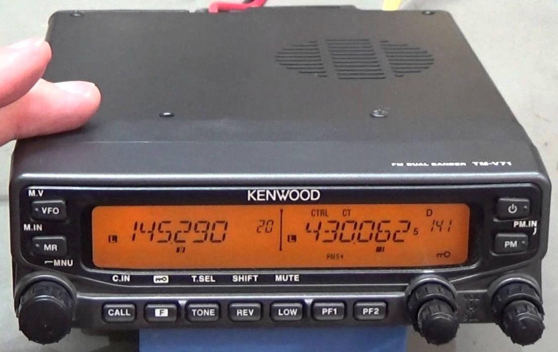 Kenwood TM-V71 Radio Transceiver