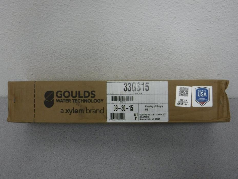 Goulds 33GS15,  4