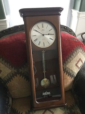 Beautiful JUNGHANS Vintage German  Wall Clock from the 8o's