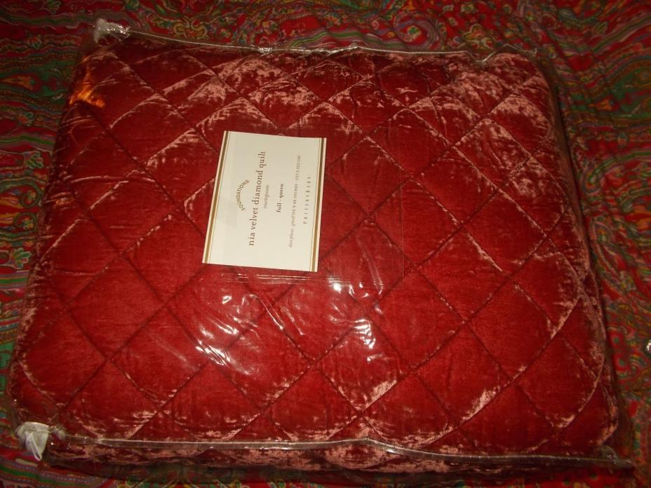 Pottery Barn Full Queen Quilt For Sale Classifieds