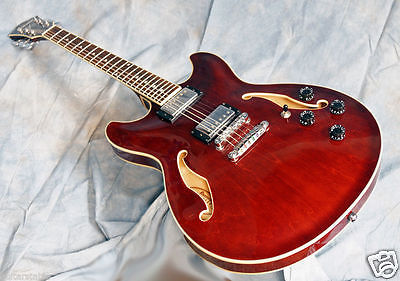 Ibanez AS73TCR Trans cherry Exquisitely Grained The Perfect Jazz Player's Guitar