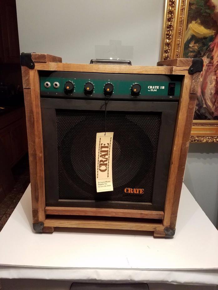 RARE NEW Vintage Crate Guitar Amp 1B