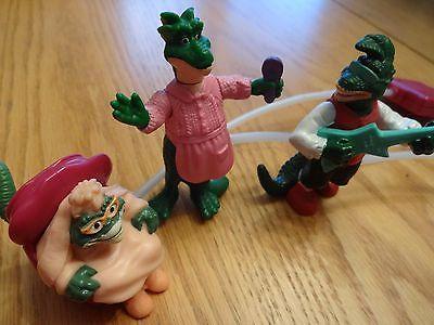 Dinosaurs TV Show 6 Piece Pump Action Figures Toys